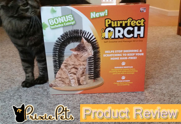 Purfect Arch Grooming Cat Toy