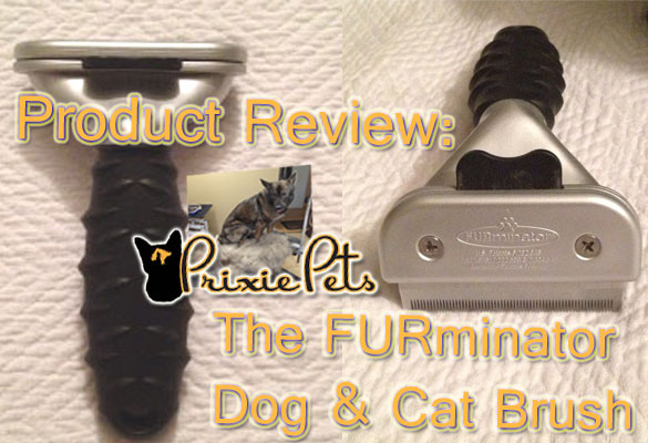 Furrminator Dog/Cat Brush Review