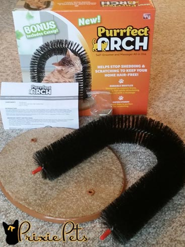 Purrfec Arch Cat Toy Contents