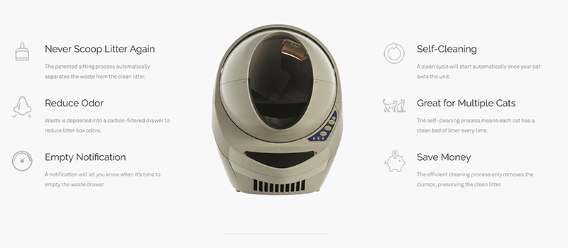Features of Litter Robot III