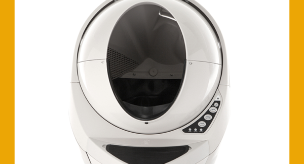 Litter Robot Open Air III (White)White
