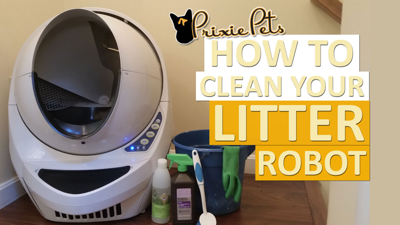 How to Clean Your Litter Robot Easily